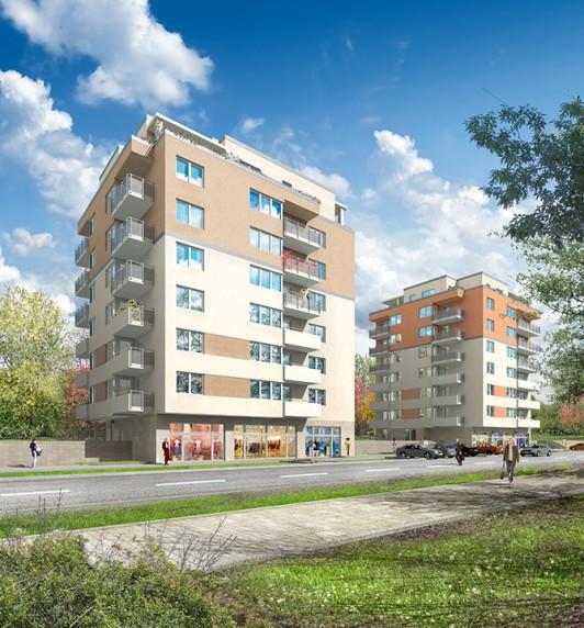 budynki mieszkalne, skoroszewska
